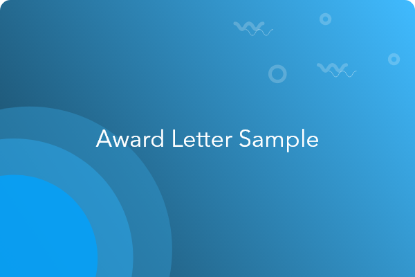 Employee award letter example