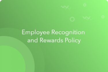 employee recognition and reward policy