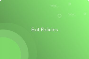exit policy