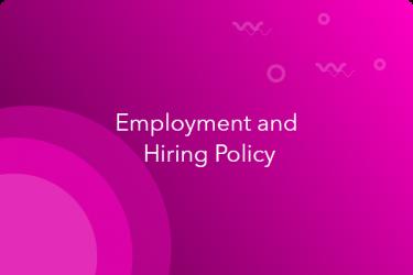 hiring policy