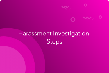 harassment investigation steps