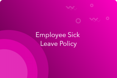 sick leave policy