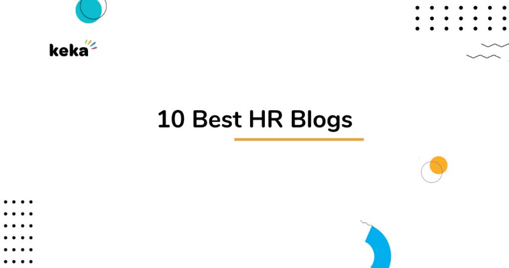 best hr blogs