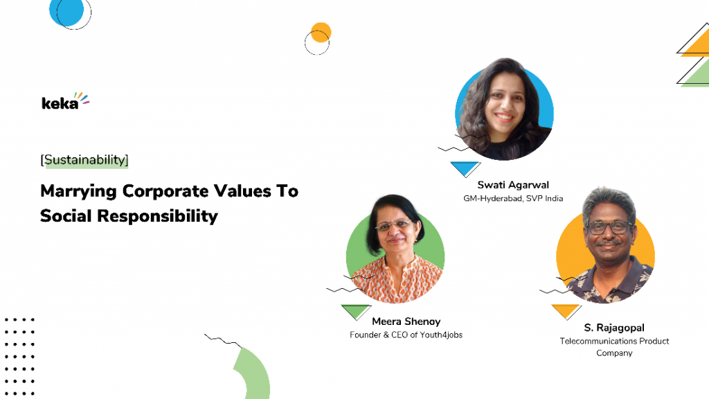corporate values to social responsibility