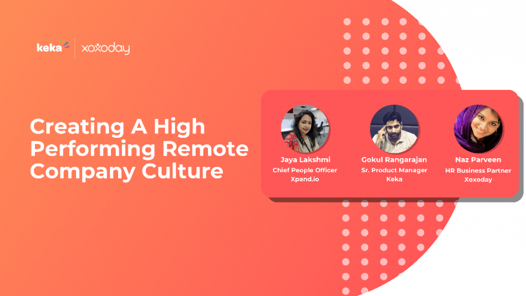 high performing remote company culture