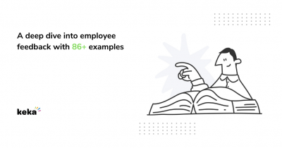 Employee feedback with examples
