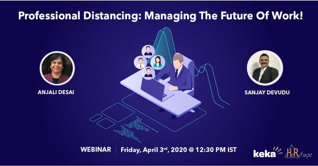 webinar on managing the future of work