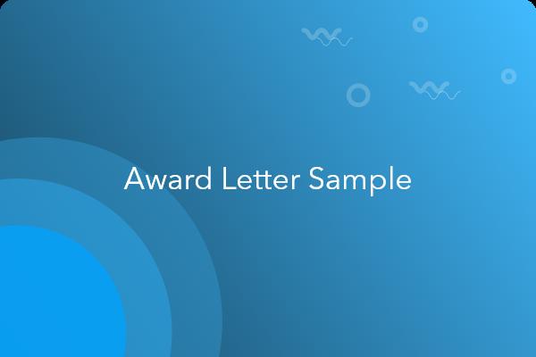 Employee award letter example