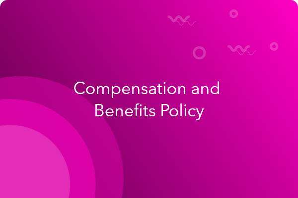 compensation and benefits policy