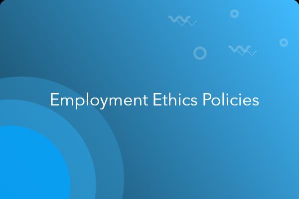 employee ethics policy