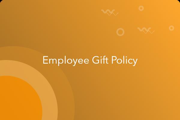 employee gift policy