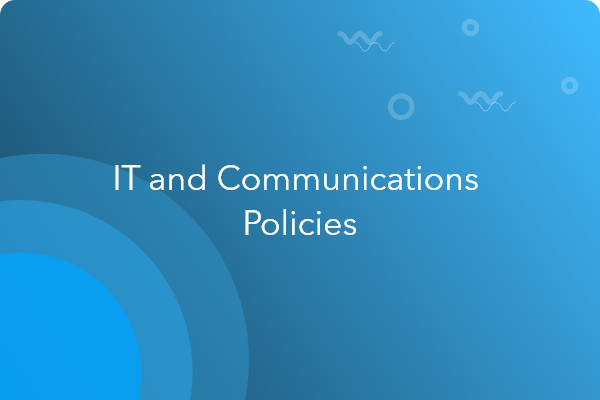 it communication policy