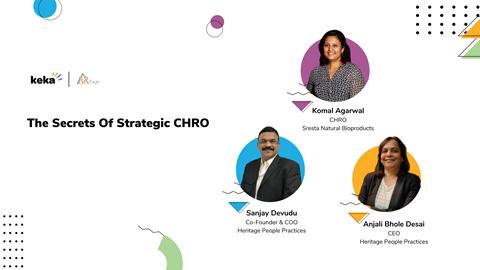 secrets of strategic CHRO