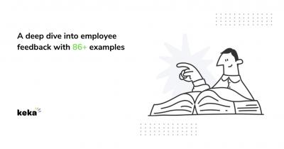 Employee feedback with examples