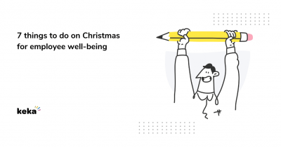 Things to do on christmas for employee wellbeing